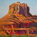 Bell Rock In Sedona Arizona - High Res. by Rauno  Joks