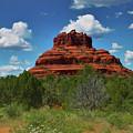 Bell Rock In Sedona by Ola Allen