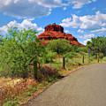 Road To Bell Rock In Sedona by Ola Allen