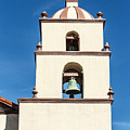 Bell Tower Mission San Buenaventura by Danny Goen