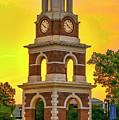 Bell Tower At Christopher Newport University C N U by Ola Allen
