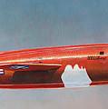 Bell X-1 Rocket Plane by Douglas Castleman