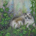 Bella With Ivy And Bamboo by Sheri Hubbard