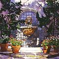 Bellagio Fountain by David Lloyd Glover