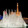 Bellagio Fountains Night 2 by Andy Smy