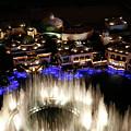 Bellagio Hotel Fountain by Marilyn Hunt