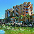 Belle Harbor Condos In Clearwater Florida by Ola Allen