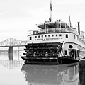 Belle Of Louisville Docked by Art Block Collections