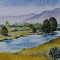 Bellinger Valley In Spring by Sandra Phryce-Jones