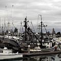 Bellingham Bay Ship Yard by Clayton Bruster