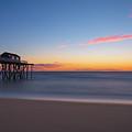 Belmar Fishing Pier Sunrise by Michael Ver Sprill