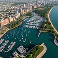 Belmont Harbor Chicago by Steve Gadomski