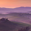 Belvedere And Tuscan Countryside by Brian Jannsen