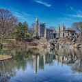 Belvedere Castle And Turtle Pond by Paul Fell