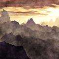 Belzoni Mountain Range by Phil Perkins