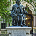 Ben Franklin At The University Of Pennsylvania by John Greim