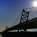 Ben Franklin Bridge 2 by Bill Cannon