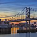 Ben Franklin Bridge by Susan Candelario
