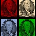 Ben Franklin In Colors by Rob Hans