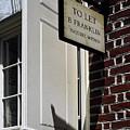 Ben Franklin Rental Sign by Sally Weigand