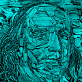Ben In Wood Turquoise by Rob Hans