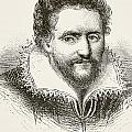 Ben Jonson 1572 To 1637. English by Vintage Design Pics
