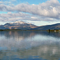Loch Lomond - Cloud Reflections by Phil Banks