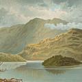 Ben Venue And Ellen's Isle   Loch Katrine by English School