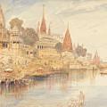 Benares by Edward Lear
