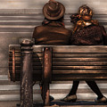 Bench - A Couple Out Of Time by Mike Savad
