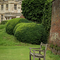 Bench At Audley End by Jean Noren