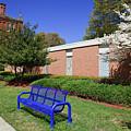 Bench At Johnson C Smith University by Jill Lang