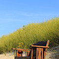 Bench At The Beach by Travis Rogers