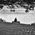 Bench Fishing by Kerri Farley