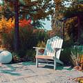 bench in German park by Ariadna De Raadt