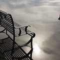 Bench In The Clouds by Chellie Bock