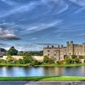 Bench View Of Leeds Castle by Chris Thaxter