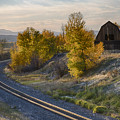 Bend In The Tracks by Idaho Scenic Images Linda Lantzy