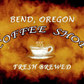 Bend Oregon Coffee Shop by David Millenheft