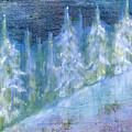 Bend Snow Trees by Patt Nicol
