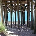 Beneath The Pier by Curtis Krusie