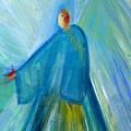 Benevolent Angel With  Cardinal Pedrero by Robin Maria Pedrero