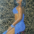 Benita As A Dancing Star by Angelo Thomas