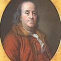 Benjamin Franklin by Jean Valade