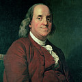 Benjamin Franklin by Joseph Wright of Derby