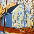 Bennett Street Houses by Laurie Breton