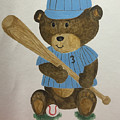 Benny Bear Baseball by Tamir Barkan