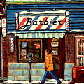Bens Barbershop by Carole Spandau