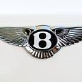Bentley Emblem -0081c by Jill Reger