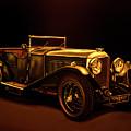 Bentley Open Tourer 1929 Mixed Media by Paul Meijering
